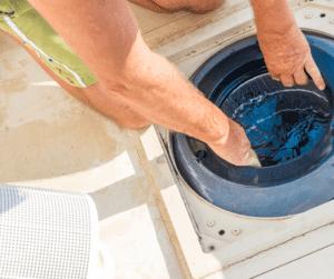 risque niveau d'eau piscine
