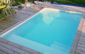 mini piscine coque