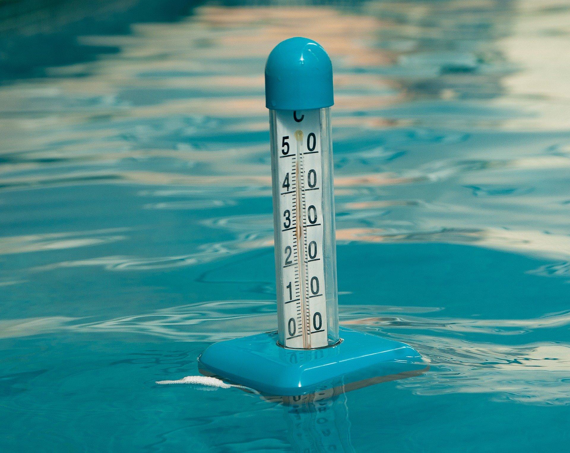température idéale piscine