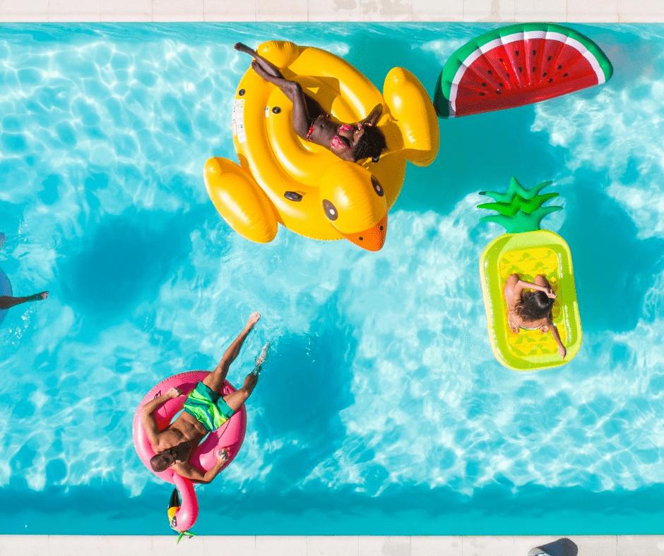 prolonger la baignade piscine