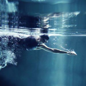 nage à contre courant couloir de nage