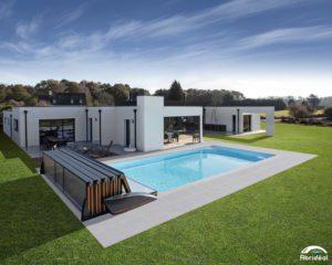 Abri piscine plat Abridéal
