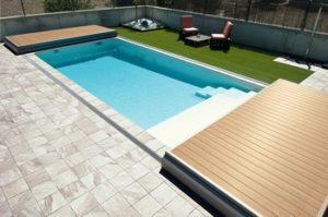terrasse amovible piscine ouverte entier